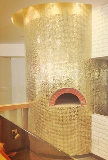 Goldne Tiles Wood Fired oven