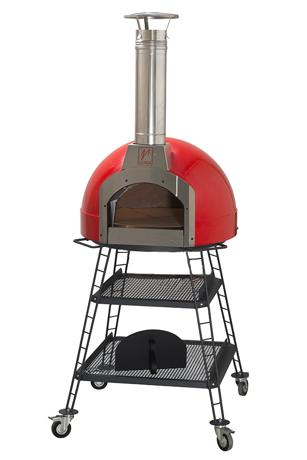 Valoriani baby wood fired oven luxury distributed in for Luxury oven