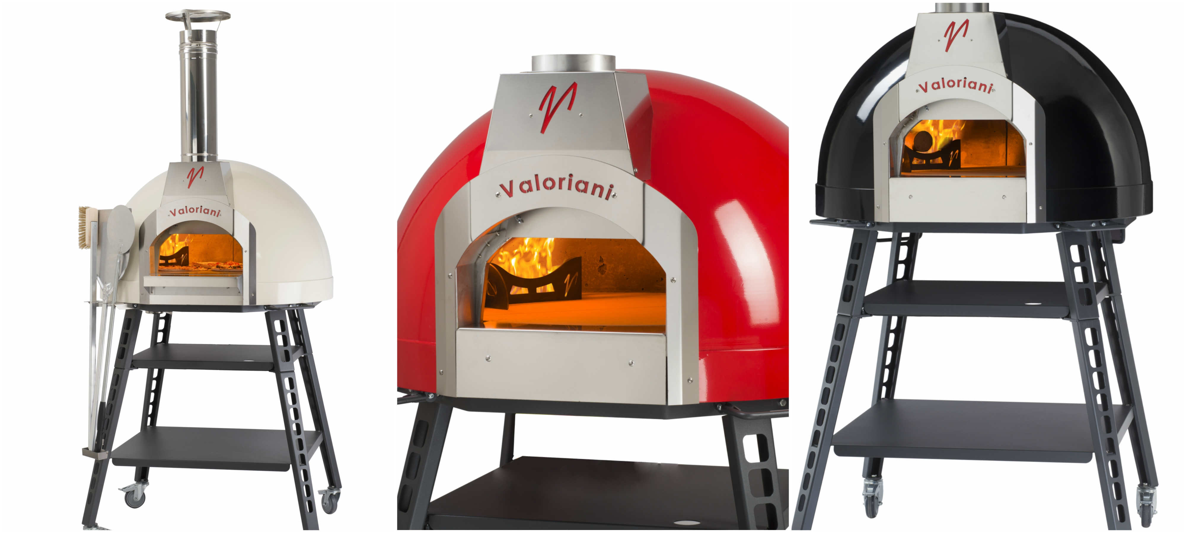 collage new residential wood fired ovens