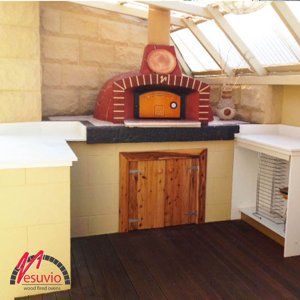 Residential Wood Fired Ovens Gallery - Vesuvio Wood Fired ...