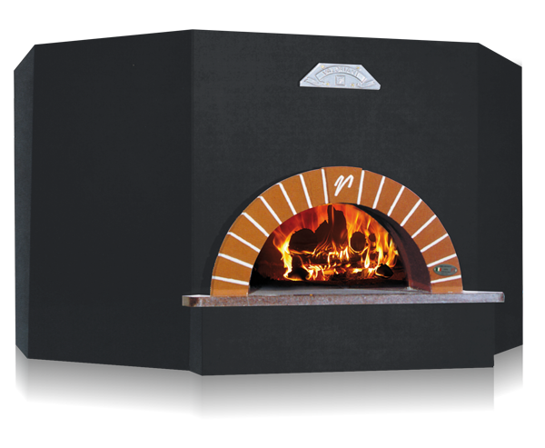 OT series woodfired oven black