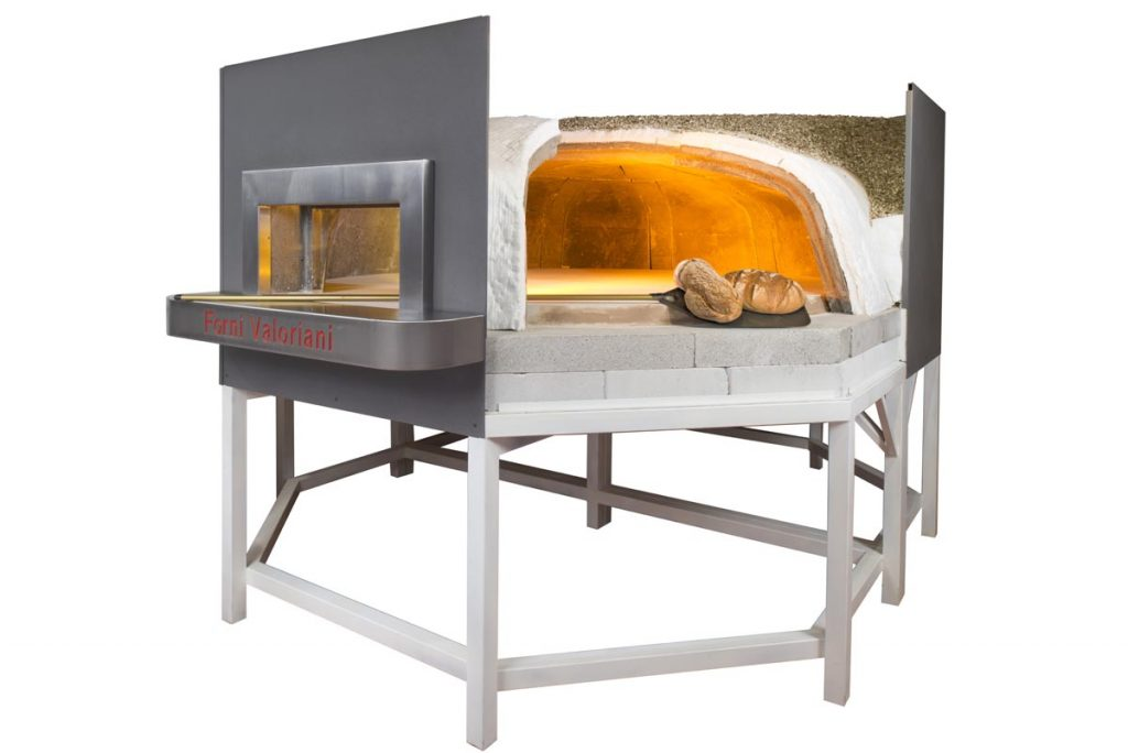 baking wood fired oven ot series maxi 220 by valoriani