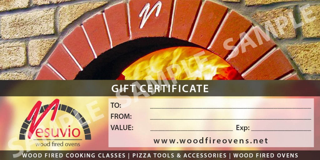 Gift vouchers cooking classes sample