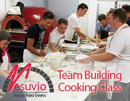 Team building Cooking class button