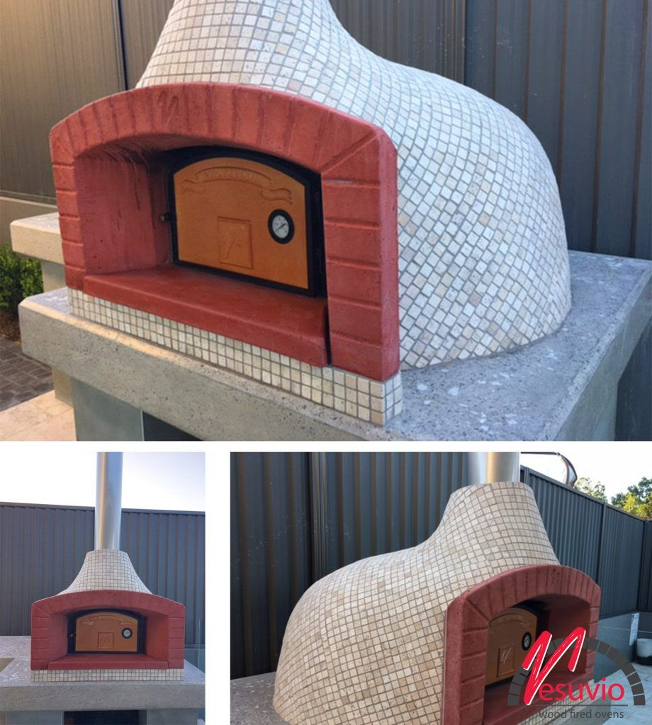 tiled mosaic wood fired oven valoriani top 100
