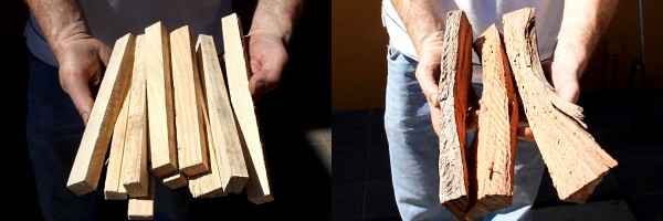 wood to use in wood fired oven